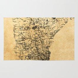 Old Minnesota Map Rug