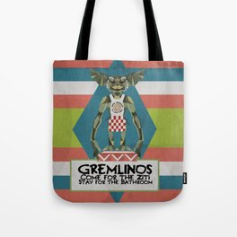 Gremlinos Late night restaurant Tote Bag