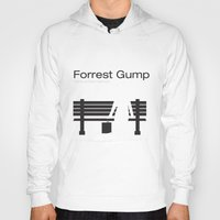 """forrest gump Hoodies featuring Film """"Forrest Gump"""" by Patricia Calzado"""