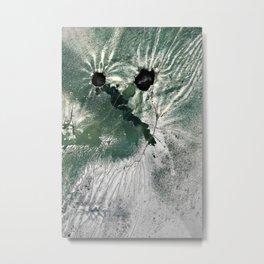 Auto Aerial Landscape Metal Print