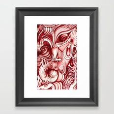 Sharp Senses & Soft Sensibilities Framed Art Print