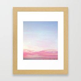 Chroma Sky Framed Art Print