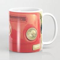 vw Mugs featuring VW Coastin' by RichCaspian