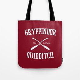 Hogwarts Quidditch Team: Gryffindor Tote Bag