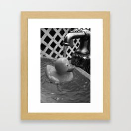 Rubber Duck Framed Art Print