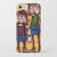 mario bros iPhone & iPod Cases featuring Super Mario Bros. by epicdinosaurs