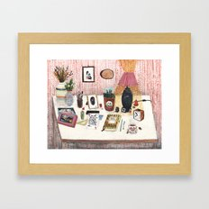 Still Life II  - Desk Framed Art Print