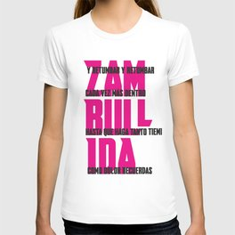 ZAMBULLIDA Frases 01 T-shirt