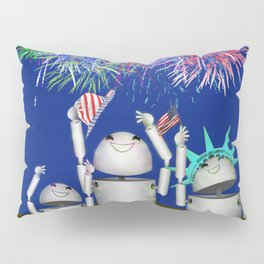Robo-x9 & Family Celebrate the 4th of July Pillow Sham