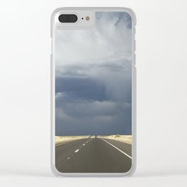 Route 66 Storm Clear iPhone Case