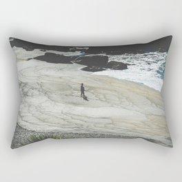 The Beach Azores Rectangular Pillow