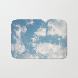 Clouds Bath Mat