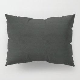 Black Leather Pillow Sham