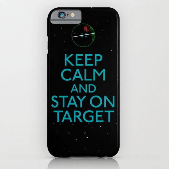 Stay on target iPhone & iPod Case
