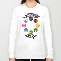 lanterns Long Sleeve T-shirts featuring Lanterns Unite by CJones5105