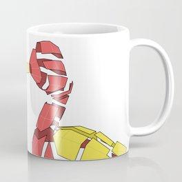 Papercraft Duck - Broken apart 3D paper model of mother goose Coffee Mug