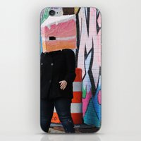 detroit iPhone & iPod Skins featuring Detroit Graffiti by ashurcollective