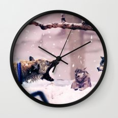 The Last Stand Wall Clock