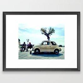 little car Framed Art Print