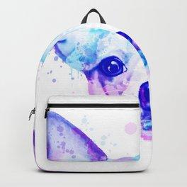 Chihuahua watercolor, Watercolor beagle, Watercolor dog, Chihuahua portrait Backpack