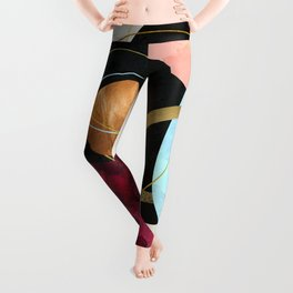 Abstract Pebbles II Leggings