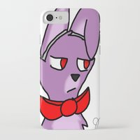 fnaf iPhone & iPod Cases featuring Bonnie by Darkerin Drachen