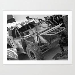 Track Noir TORC #6 Art Print