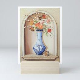 Blue Willow Niche Mini Art Print
