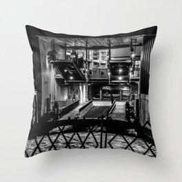 The Ferry Slip - Whitehall Throw Pillow