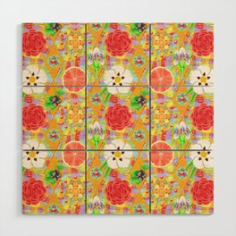 4160 Tuesdays Rainbow Botanicals Wood Wall Art