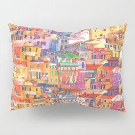 Seamless Cinque Terre Pillow Sham