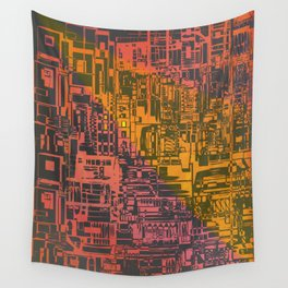 Where Are YOU / Density Series Wall Tapestry