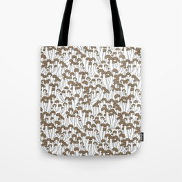 Beech Mushrooms Tote Bag