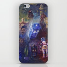 """""""13 in 50"""" a Tribute to Doctor Who iPhone Skin"""