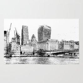 City of London Art Panorama Rug