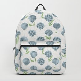 Helenium overload spring summer seamless pattern Backpack