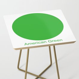 American Green Side Table