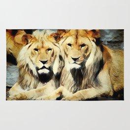 lion's harmoni Rug