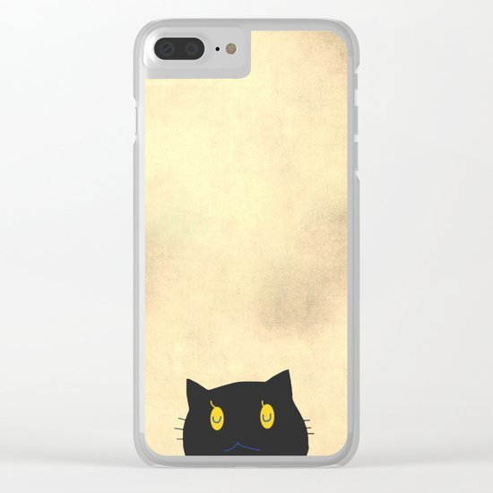 cat-43 Clear iPhone Case