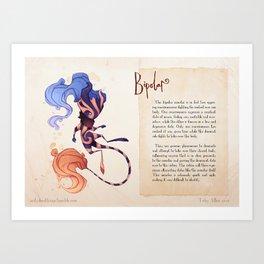 Real Monsters- Bipolar V2 Art Print