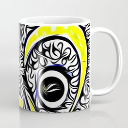 The Peacock called Meka Coffee Mug