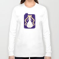 sailor moon Long Sleeve T-shirts featuring sailor moon by Erica_art
