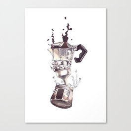 If all else fails, Coffee! Canvas Print