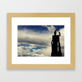 The Queen of the Sky Framed Art Print