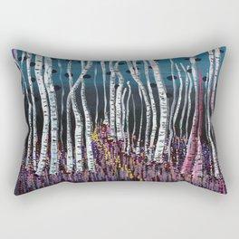 :: Pink Moss :: Rectangular Pillow