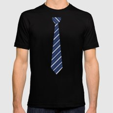 TIE Mens Fitted Tee Black SMALL