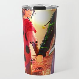 Miraculous Ladybug - Marinette and Adrien Travel Mug