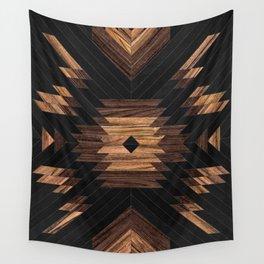 Urban Tribal Pattern No.7 - Aztec - Wood Wall Tapestry
