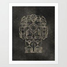 Hulkbuster Art Print