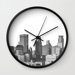 Minneapolis Minnesota Wall Clock